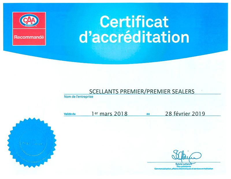 Certification CAA Habitation recommandé dans Ouest-de-lile