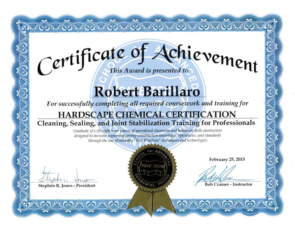 Certification Pave Tech Ouest-de-lile