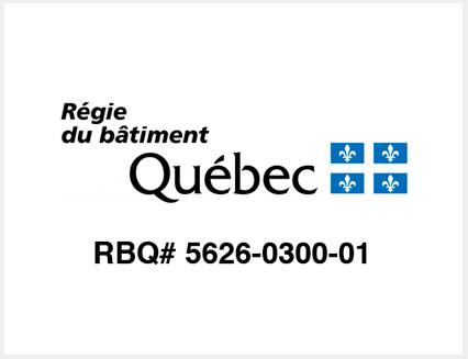 License RBQ Scellants Premier